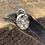 Thumbnail: Honeycomb Sterling Silver Pebble Charm