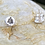 Thumbnail: Tree Xmas  Silver Stud Earrings