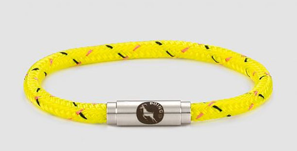 Boing Psychedelic Yellow Bracelet