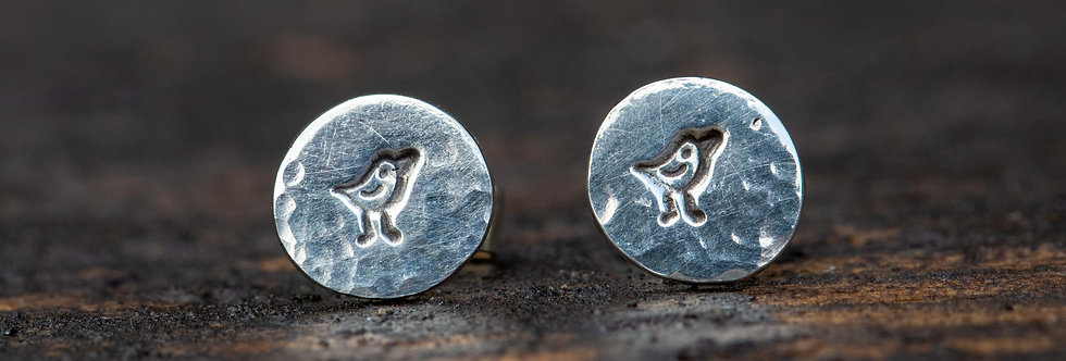 Robin Sterling Silver Earrings