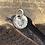 Thumbnail: Dandelion Head Sterling Silver Charm