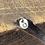 Thumbnail: Horseshoe Sterling Silver Pebble Charm