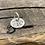 Thumbnail: Peace Sterling Silver Pebble Charm