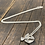 Thumbnail: Hummingbird Sterling Silver Necklace