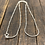 Thumbnail: Beaded Sterling Silver Snake Chain