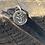 Thumbnail: Taurus Sterling Silver Pebble Charm