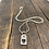 Thumbnail: Heart Tag Sterling Silver Necklace