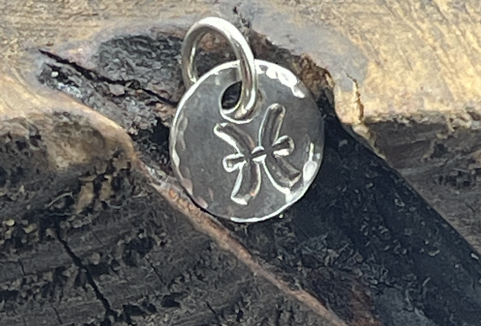 Pisces Sterling Silver Charm