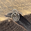 Thumbnail: Forget Me Not Sterling Silver Pebble Charm