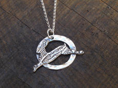 Leaping Hare Necklace