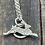 Thumbnail: Leaping Hare (s) Sterling Silver Necklace