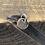 Thumbnail: Hedgehog Sterling Silver Pebble Charm