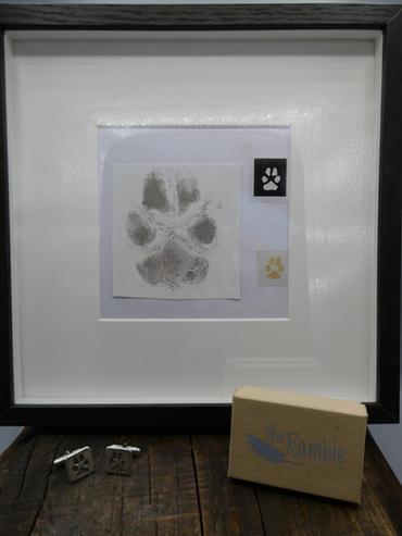 Pet Print Box Frame