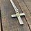 Thumbnail: Cross Sterling Silver Necklace