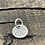 Thumbnail: Love Sterling Silver Pebble Charm