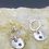 Thumbnail: Star Sterling Silver Drop Earrings