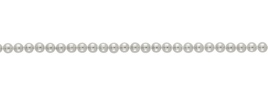 Sterling Silver Chunky Ball Chain