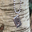 Thumbnail: Rugby Ball Sterling Silver Tag