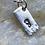 Thumbnail: Footprint Sterling Silver Tag