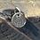 Thumbnail: Rhino Sterling Silver Pebble Charm