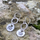 Thumbnail: Squirrel Sterling Silver Drop Earrings