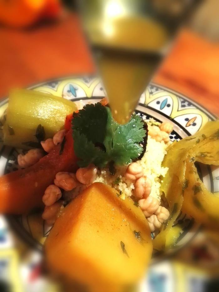 Veggy couscous