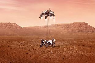 Perseverance sur Mars