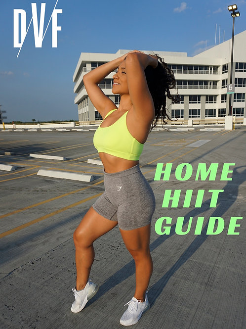 Stay Home & HIIT it