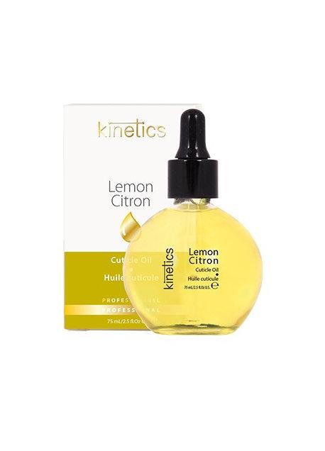 KN Lemon Cuticle Oil 75ml, with dropper in Box