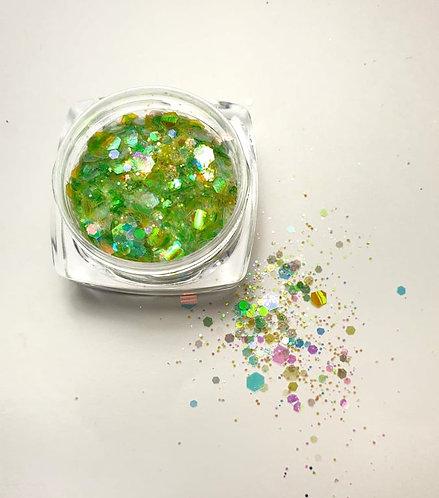 Nail Art Glitters Green