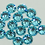 Thumbnail: Extra Quality High Shine Crystals Turquoise 1700 pcs 6 sizes . Se