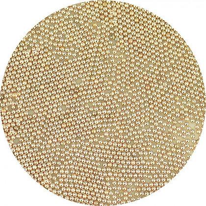 Micro Beads Rose Gold Metal