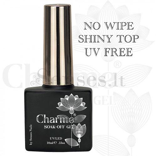 Charme Gel No Wipe Top Coat UV Free