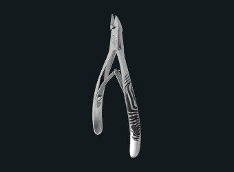 PROFESSIONAL CUTICLE NIPPERS EXCLUSIVE 20 8 ММ