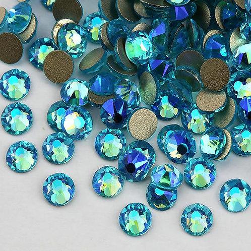 Extra Quality High Shine Crystals Aquqmqrine 1728 pcs 6 sizes separate