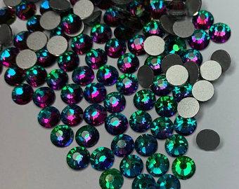 Extra Quality High Shine Crystals Turquoise 1728 pcs  6 sizes