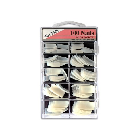 100 Nail Tips – Salon Gold