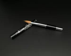 Pure Kolinsky Acrylic Nail Brush 8# Black Metal Handle