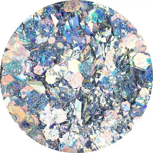Nail design  Glitters Lilac