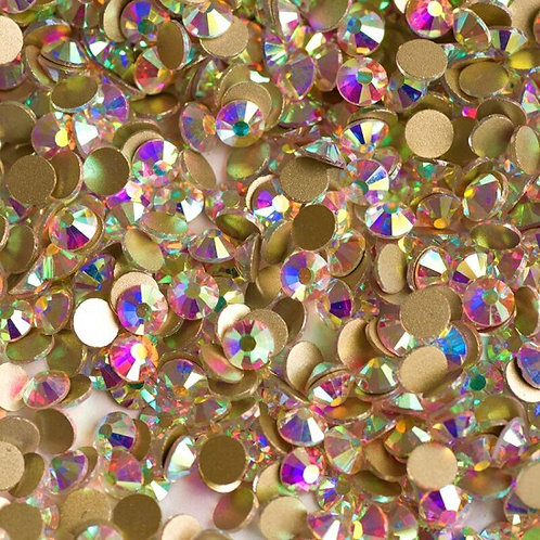 Extra Quality High Shine Crystals  1728 pcs 6 sizes separate