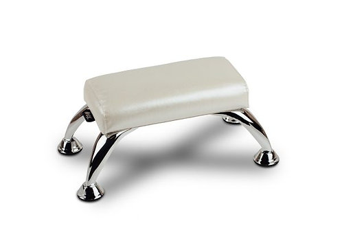 WHITE MANICURE ROLLER - FOOTED