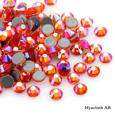Multi Shine Extra Quality Crystals Ghost Hyacinth 1728 pcs 6 sizes