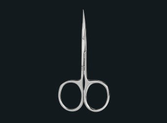 PROFESSIONAL CUTICLE SCISSORS FOR LEFT-HANDED USERS EXPERT 11 TYPE 1 (18 ММ)