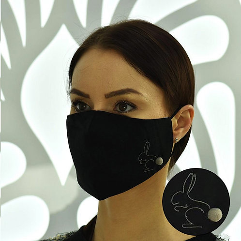 Dust protective Mask 5 X Layer protection Reusable
