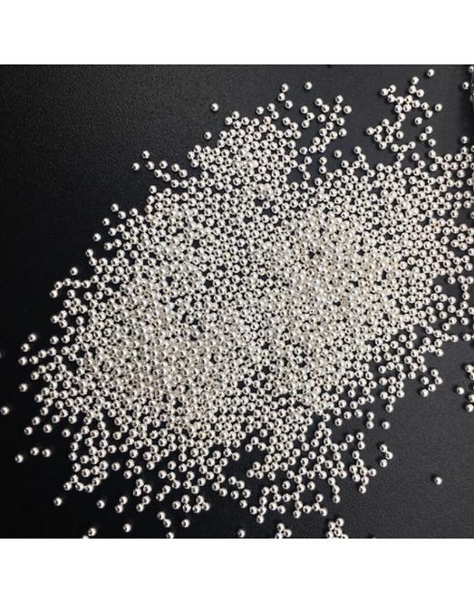Micro Beads WhiteMetal