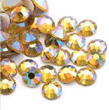 Multi Shine Extra Quality Crystals Citrine  1728 6 sizes
