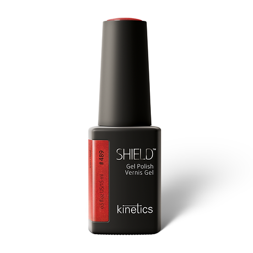 SHIELD Gel Polish Iron Red #489