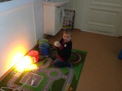 Занятия на коврике