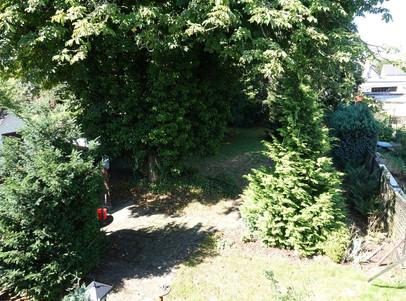 6070 Blick von oben in den Garten