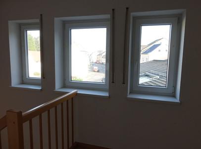 Fenster in der Diele oben